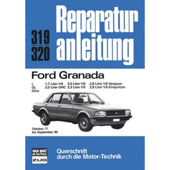 Ford Granada L / GL / Ghia (77-80) - Reparaturanleitung