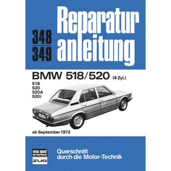 BMW E12 518 / 520 (72>) - Reparaturanleitung
