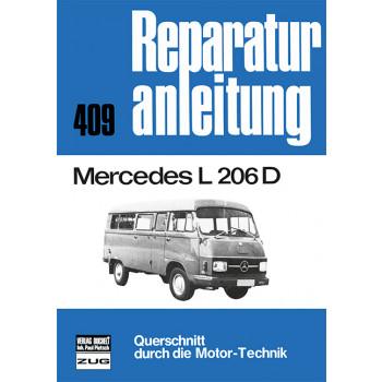 Mercedes L 206 D- Reparaturanleitung Bucheli