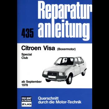 Citroen Visa Special / Club mit Boxermotor Reparaturleitfaden