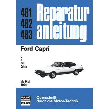 Ford Capri (76>) - Reparaturanleitung