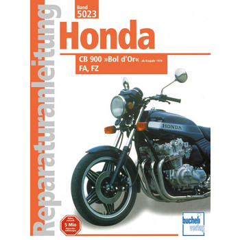 Honda CB 900 Boldor FA / FZ (78>) - Reparaturanleitung
