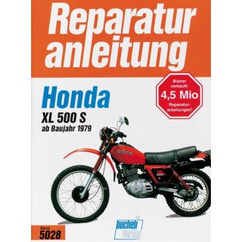 Honda XL 500 S (79>) - Reparaturanleitung