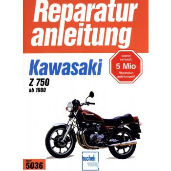 Kawasaki Z 750 E1, H1, E2, L1, R1, GPZ (1980-1983) Reparaturanleitung