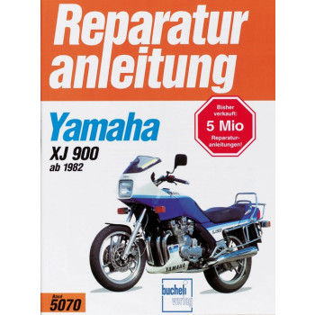 Yamaha XJ 900 (82>) - Reparaturanleitung