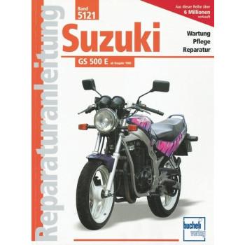 Suzuki GS 500 E (1989>) - Reparaturanleitung