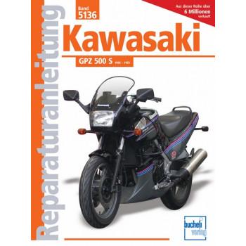 Kawasaki GPZ 500 S  (86-93) - Reparaturanleitung