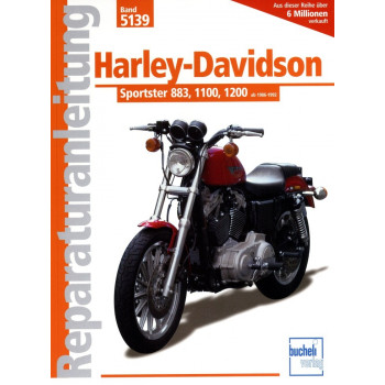 Harley Davidson Sportster 883 / 1100 /1200 (1986-1992) Reparaturanleitung