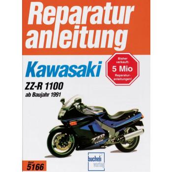 Kawasaki ZZ-R 1100 (91>) - Reparaturanleitung