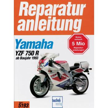 Yamaha YZF 750 R / SP (93>) - Reparaturanleitung