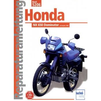Honda NX 650 Dominator (1988-2000) - Reparaturanleitung