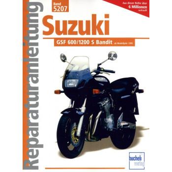 Suzuki GSF 600 / 1200 S Bandit (1995-2006) - Reparaturanleitung