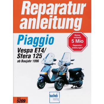 Piaggio Sfera 125 / Vespa ET 4 (96>) - Reparaturanleitung