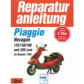 Piaggio Hexagon (95>) - Reparaturanleitung
