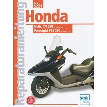 Honda Helix CN 250 / Foresight FES 250 (1988>) - Reparaturanleitung