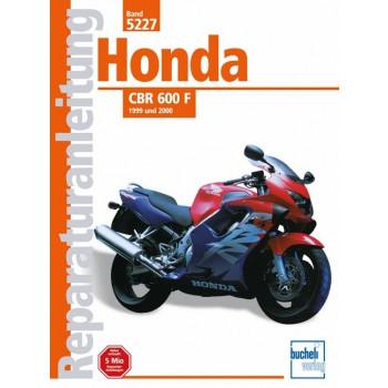Honda CBR 600 F (1999>) - Reparaturanleitung