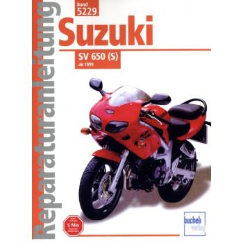 Suzuki SV 650 / S K1/K2/K3/K4/K5/K6 (1999-2010) - Reparaturanleitung