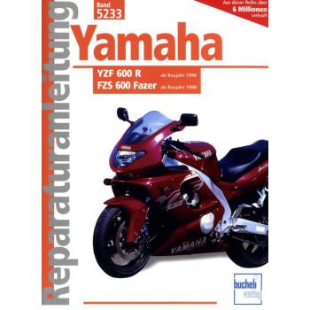 Yamaha YZF 600 R / FZS 600 Fazer (1996-2004) - Reparaturanleitung