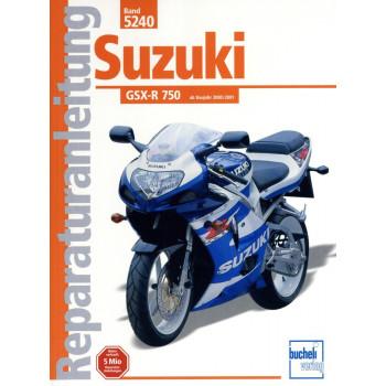 Suzuki GSX-R 750 (2000-2003) - Reparaturanleitung