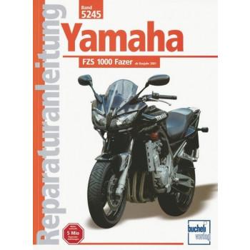 Yamaha FZS 1000 Fazer (2001>) - Reparaturanleitung