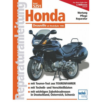 Honda Deauville RC47  (1998>) - Reparaturanleitung