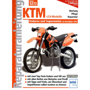 KTM LC4 Enduros / Supermotos (1987-2008) - Reparaturanleitung