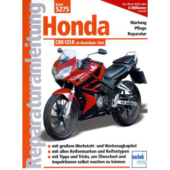 Honda CBR 125 R JC34 / JC 39 (2004-2008) - Reparaturanleitung
