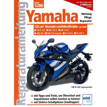 Yamaha 125 ccm Viertakt Leichtkrafträder (2005>) - Reparaturanleitung