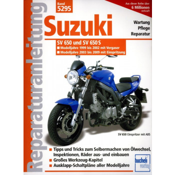 Suzuki SV 650 / SV 650 S (1999-2009) - Reparaturanleitung