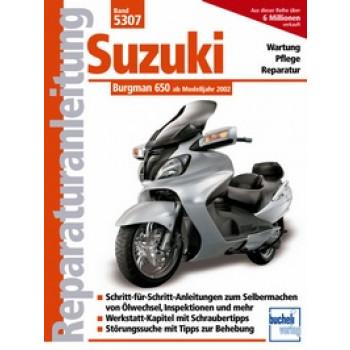 Suzuki Burgman 650 ab 2002 - Reparaturanleitung