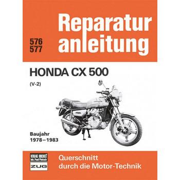 Honda CX 500 V2 (78-83) - Reparaturanleitung