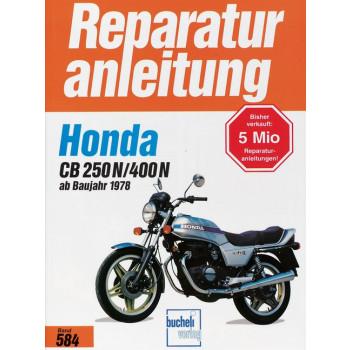 Honda CB 250 N / CB 400 N (78>) - Reparaturanleitung