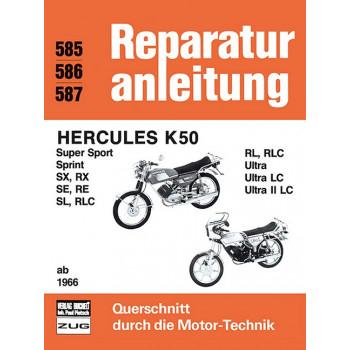 Hercules K 50 (66>) - Reparaturanleitung