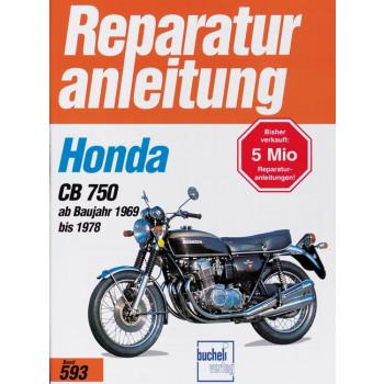 Honda CB 750 K0 / K1 / K2 / K6 / K7 / F1 / F2 (69-78) - Reparaturanleitung