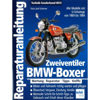 BMW Boxer Zweiventiler (1969-1985) - Reparaturanleitung Bucheli Special