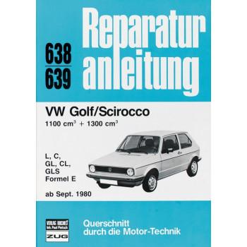 VW Golf / Scirocco II (80>) 1.1 / 1.3 Liter- Reparaturanleitung