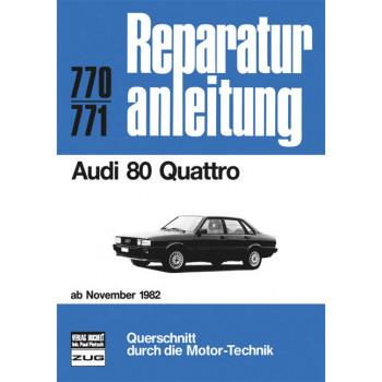 Audi 80 Quattro B2 (82>) - Reparaturanleitung