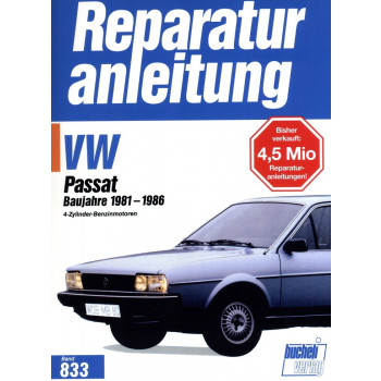 VW Passat B2 Benziner 1,3 l / 1,6 l / 1,8 l (81-86) - Reparaturanleitung
