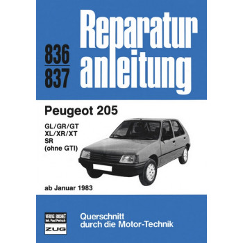 Peugeot 205 (83>) - Reparaturanleitung