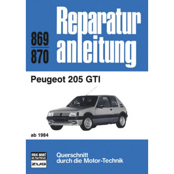 Peugeot 205 GTI (84>) - Reparaturanleitung