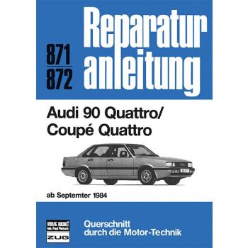 Audi 90 Quattro / Coupe Quattro (84>) - Reparaturanleitung