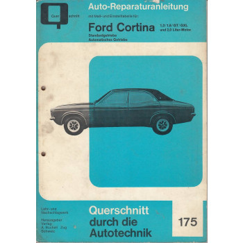 Ford Cortina 1,3 / 1,6 / GT / GXL / 2,0 Liter -  Reparaturanleitung Bucheli
