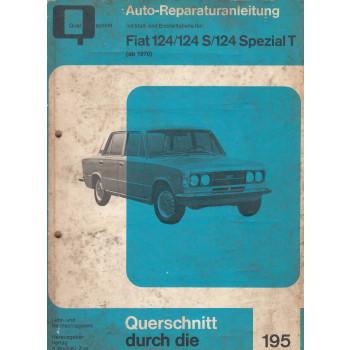 Fiat 124 (>70) - Reparaturanleitung