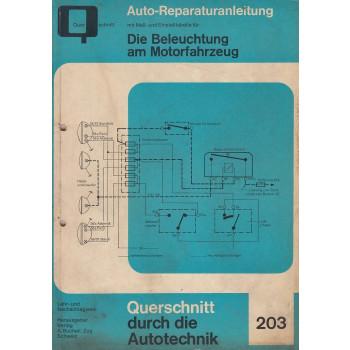 Die Beleuchtung am Motorfahrzeug - Reparaturanleitung