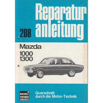 Mazda 1000 / 1300 Familia FA2/FA3  (67-77) Reparaturanleitung Bucheli