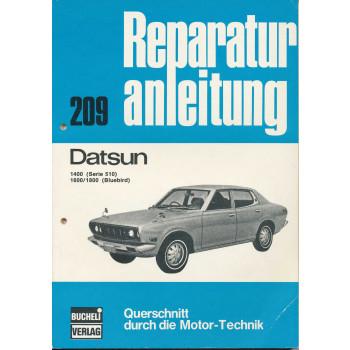 Datsun 1400 (Serie 510) 1600 / 1800 (Bluebird) - Reparaturanleitung