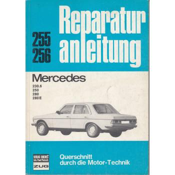 Mercedes W123 Benziner (68-75) - Reparaturanleitung Bucheli