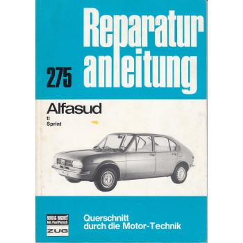 Alfa Romeo Alfasud ti / Sprint (72-80) - Reparaturanleitung