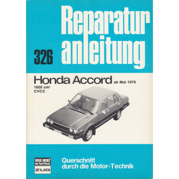 Honda Accord(76-81) - Reparaturanleitung