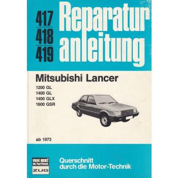 Mitsubishi Lancer (1973-83) - Reparaturanleitung